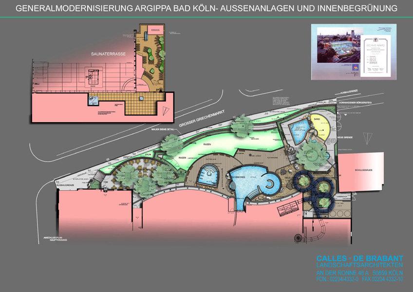 Landschaftsarchitekten Köln agrippabad köln calles de brabant landschaftsarchitekten